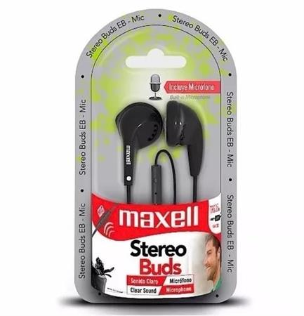 AURICULARES MAXELL EB-MIC TURBO DISEÑO COMPACTO