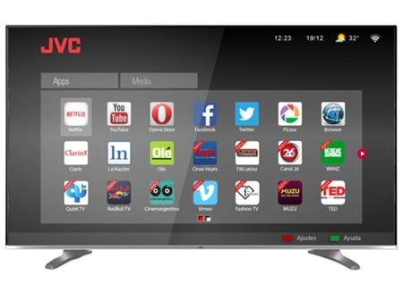 "SMART TV JVC 50"" LT-50DA965 FULL HD 3D"